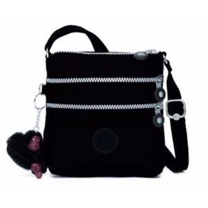 kipling black crossbody bag